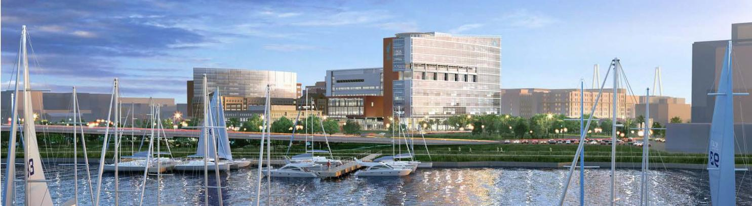 Rendering of Shawn Jenkins Children's Hospital
