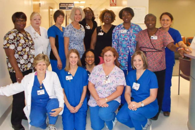 pre-op staff photo