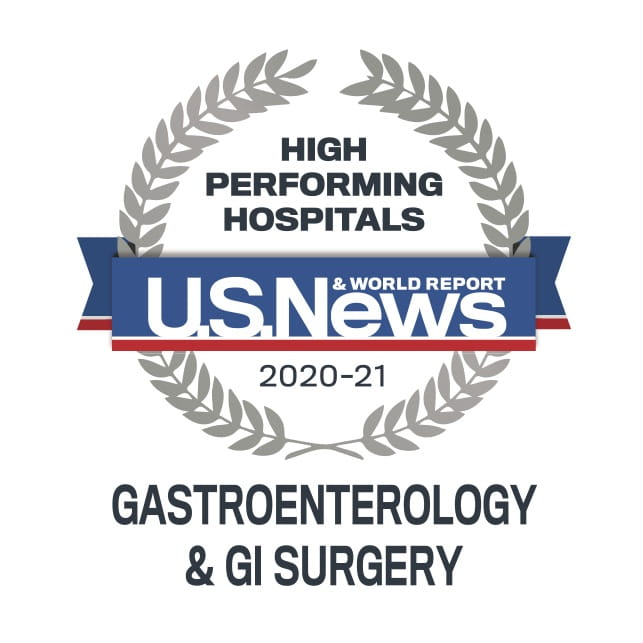 USNWR High-Performing Gastro
