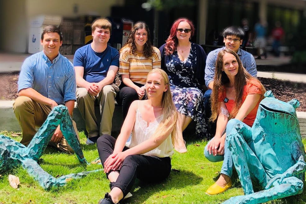 Summer 2019 lab group
