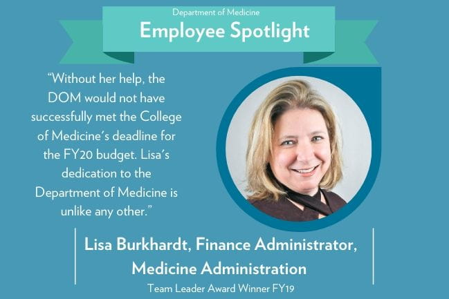 lisa burkehardt employee spotlight