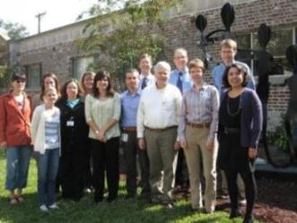 Group photo of research team.