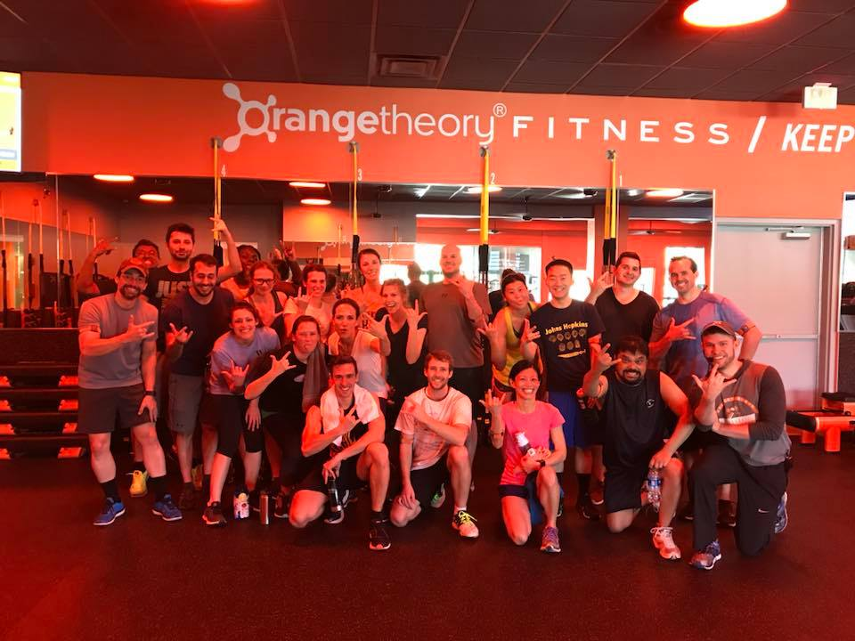 wellness outing at orange theory fitness