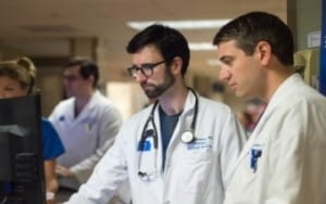 Photo of Dr. Andrews and Dr. Barmore