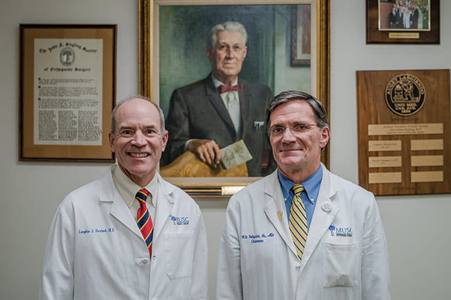 Photograph of Drs. Pellegrini and Hartsock