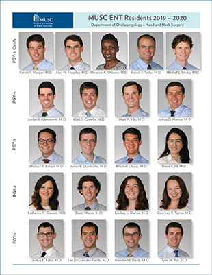 2019-20 ENT Residents