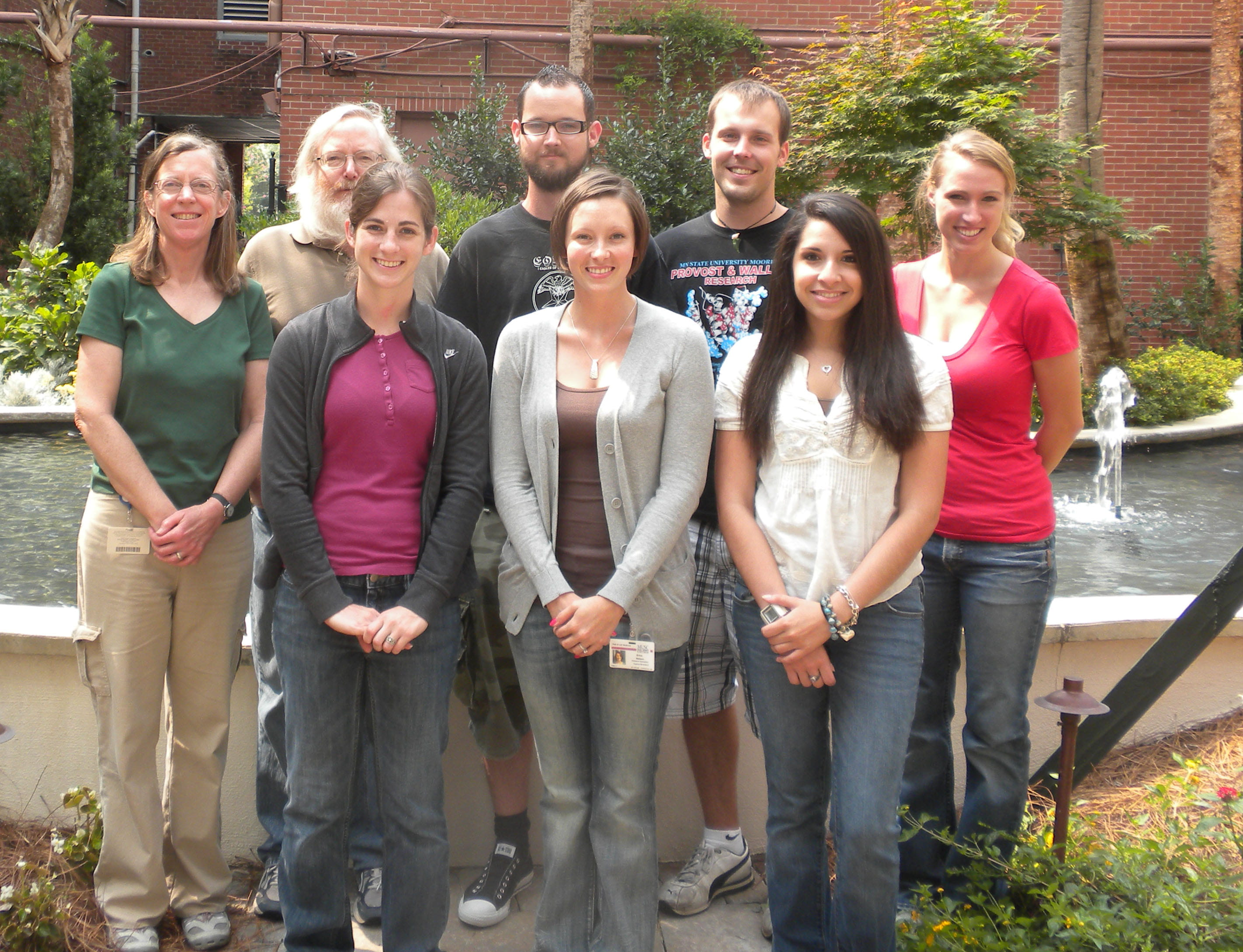 Watson Lab Summer 2010 Group Photo