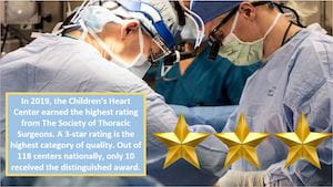 3-star rating from Society of Thoracic Surgeons