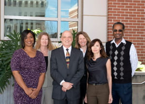 Some of our Epidemiology faculty in posed group shot