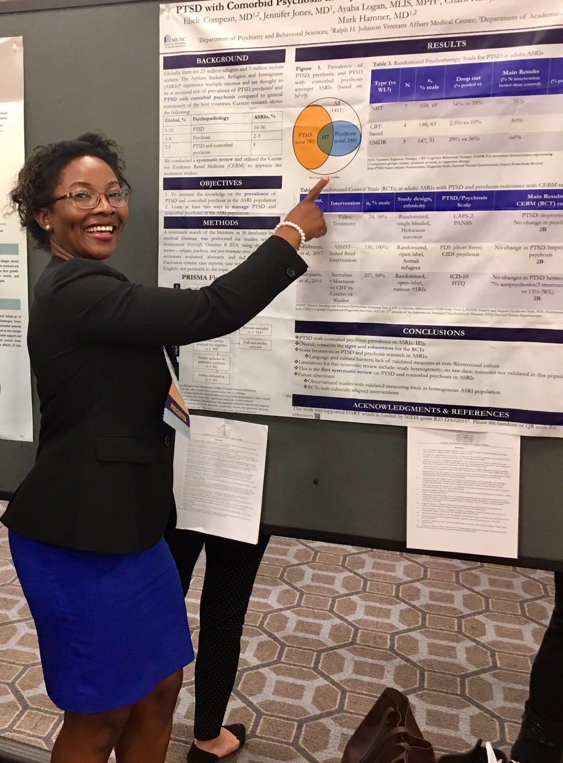 Ebele Compean ISTSS Poster Presentation