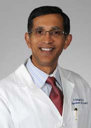 Dr. Prabhakar Baliga, chairman of the Department of Surgery