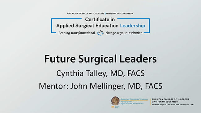 Surgical Leadership Program