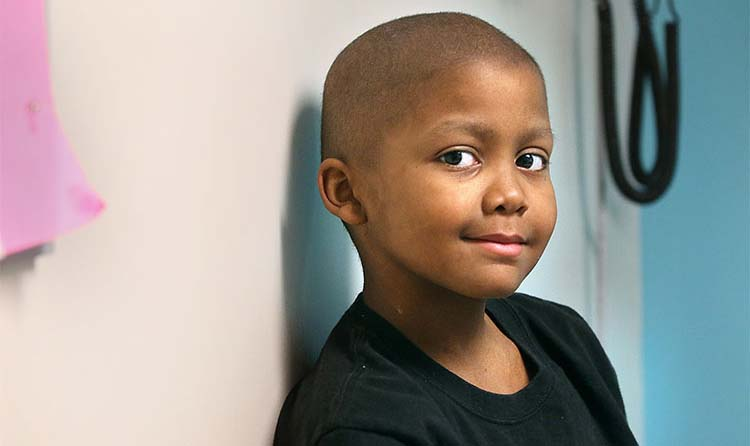 The symptoms of Gabe Cade's rare type of cancer included fatigue and a fever, which doctors initially thought were from a virus.