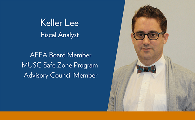 Keller Lee joins Safe Zone Advisory Council