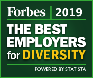 Forbes Best Employers For Diversity 2019 logo